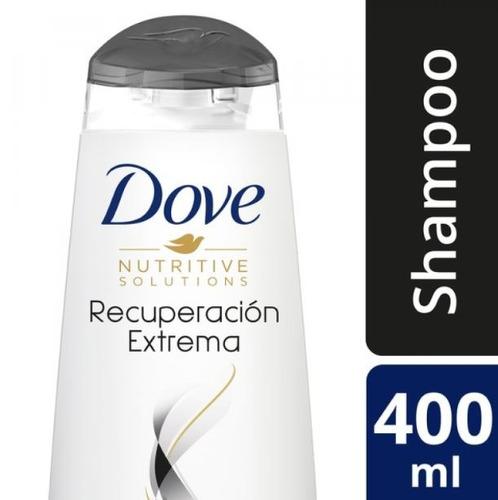 shampoo dove recuperacion extrema 400 ml.