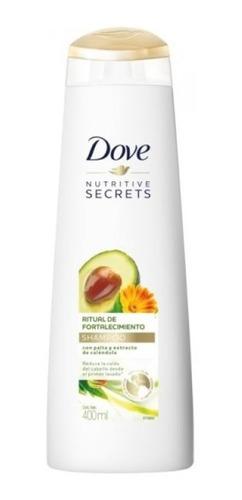 shampoo dove ritual de fortalecimiento 400 ml.