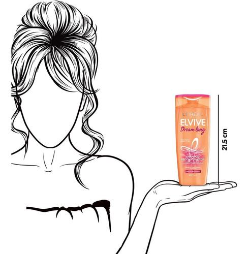 shampoo dream long elvive l´oréal paris x 400 ml