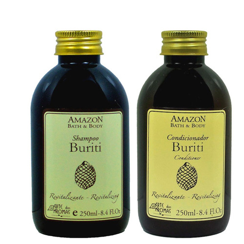 shampoo e condicionador buriti arte dos aromas 250 ml