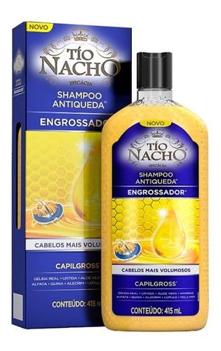 shampoo engrossador antiqueda - tio nacho 415ml