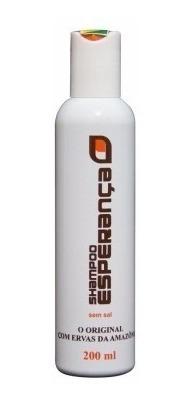 shampoo esperança + condicionador - contra caspa e calvície