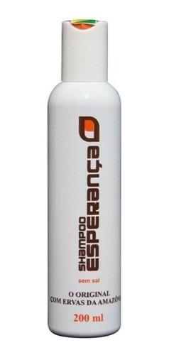 shampoo esperança contra caspa, calvície e queda dos cabelos