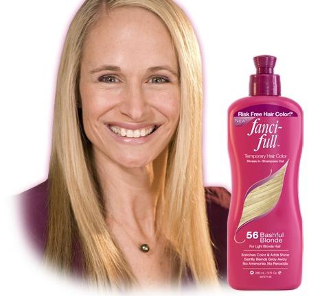 shampoo fanci-full 56 cor bashful blonde 266 ml original