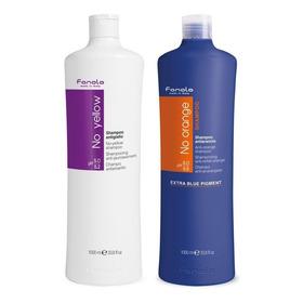 Shampoo Fanola No Yellow Y No Orange De 100ml, 240ml Y 1 L!