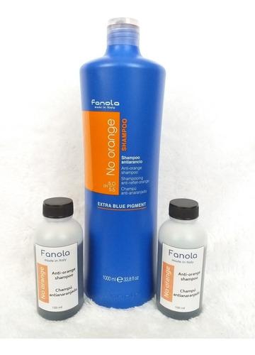 shampoo fanola no yellow y no orange de 100ml y 1000ml