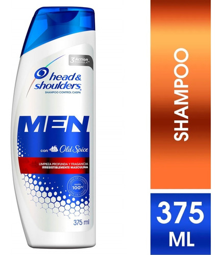 shampoo head & shoulders old spice 375 ml