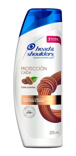 shampoo head & shoulders proteccion caida 375 ml