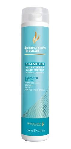 shampoo hidratante protector color libre de sulfatos  300ml