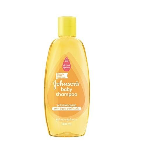 shampoo johnson´s baby ph balanceado 200ml