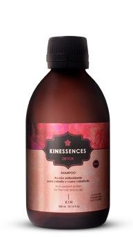 shampoo kinessences detox kin 300ml acción antioxidante