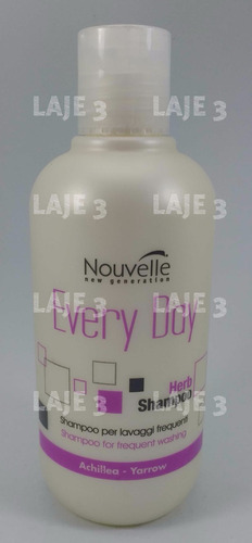shampoo lavado frecuente nouvelle every day
