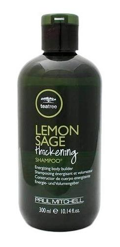 shampoo lemon sage thickening tea tree p. mitchell 300ml