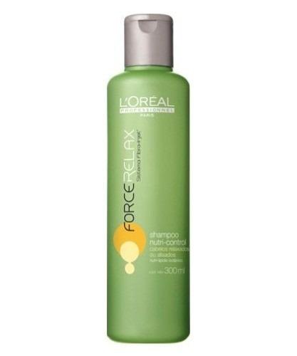 shampoo loréal force relax nutri-control 300ml
