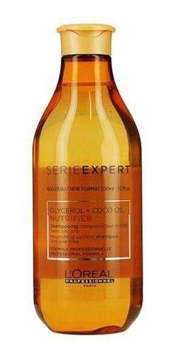 shampoo loreal nutrifier glycerol oleo de coco 300ml