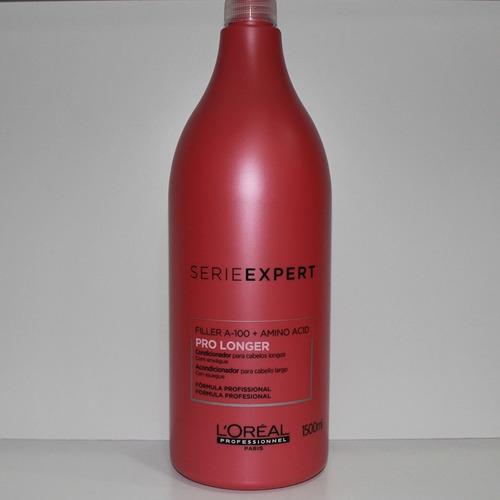 shampoo loreal pro longer serie expert 1,5l + válvula + nf