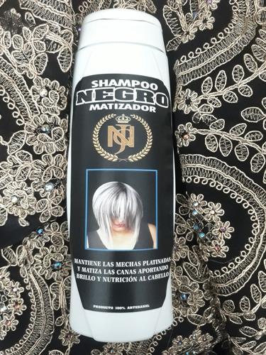 shampoo matizador  negro