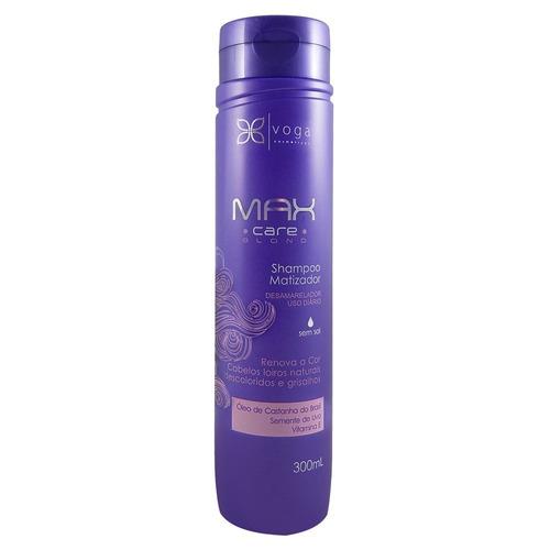 shampoo matizador voga max care blond 300ml