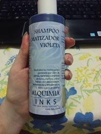 shampoo matizante violeta - 250ml