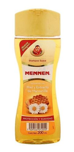 shampoo mennen protección y suavidad 200 ml.