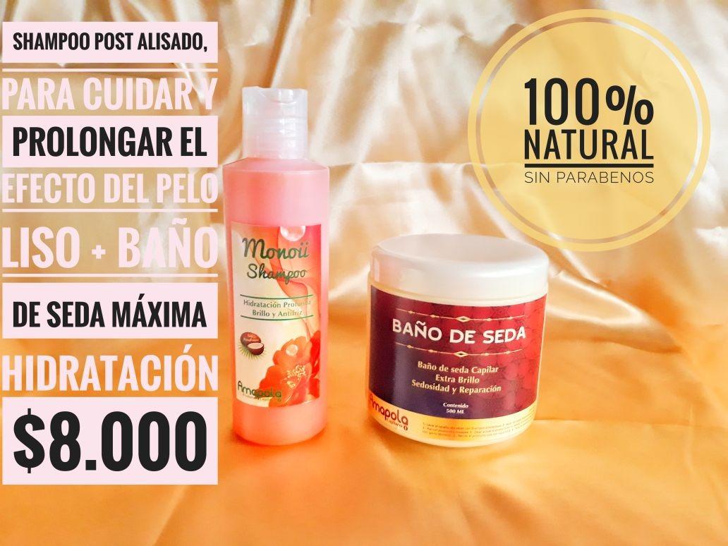 Shampoo Monoi + Baño De Seda -   8.000 en Mercado Libre 21cc6f8dba91