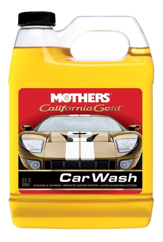 shampoo mothers california gold car wash 946ml