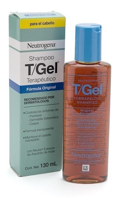 Shampoo Neutrogena T Gel Terapéutico Anticaspa,psoriasis 130