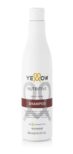 shampoo nutritive therapy - yellow 500 ml argan cabelo seco