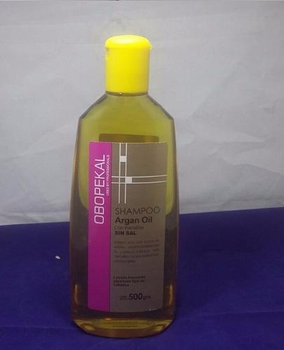 shampoo obopekal argan sin sodio