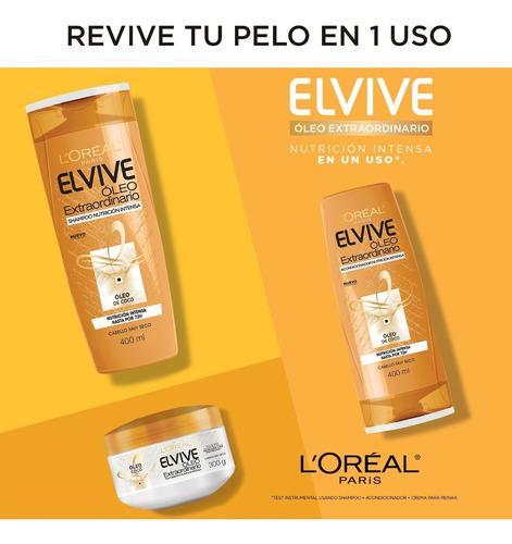 shampoo oleo extraordinario coco x400 elvive loreal paris