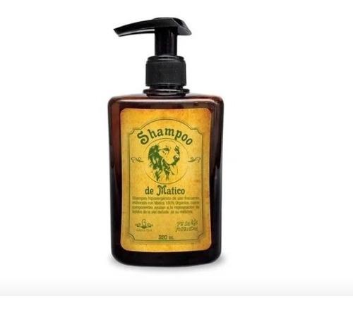 shampoo orgánico de matico para perros, 2 unidades