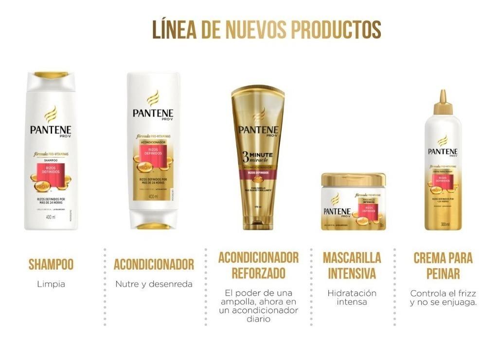 Shampoo Pantene Pro V Rizos Definidos 750 Ml