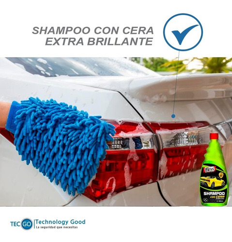 shampoo para auto con cera 1 litro friss extra brillante