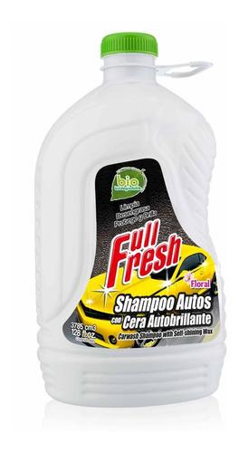 shampoo para autos con cera autobrillante 3785ml
