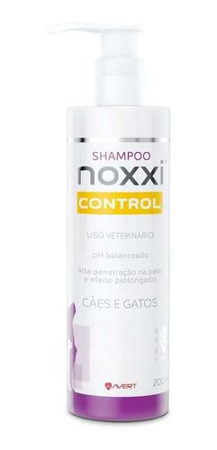 shampoo para cães e gatos avert noxxi control 200ml