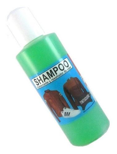 shampoo para cuero tela ante gamuza champú muebles cortinas