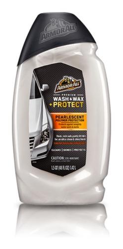 shampoo para lavado y encerado armorall limpia yprotege 1.4l