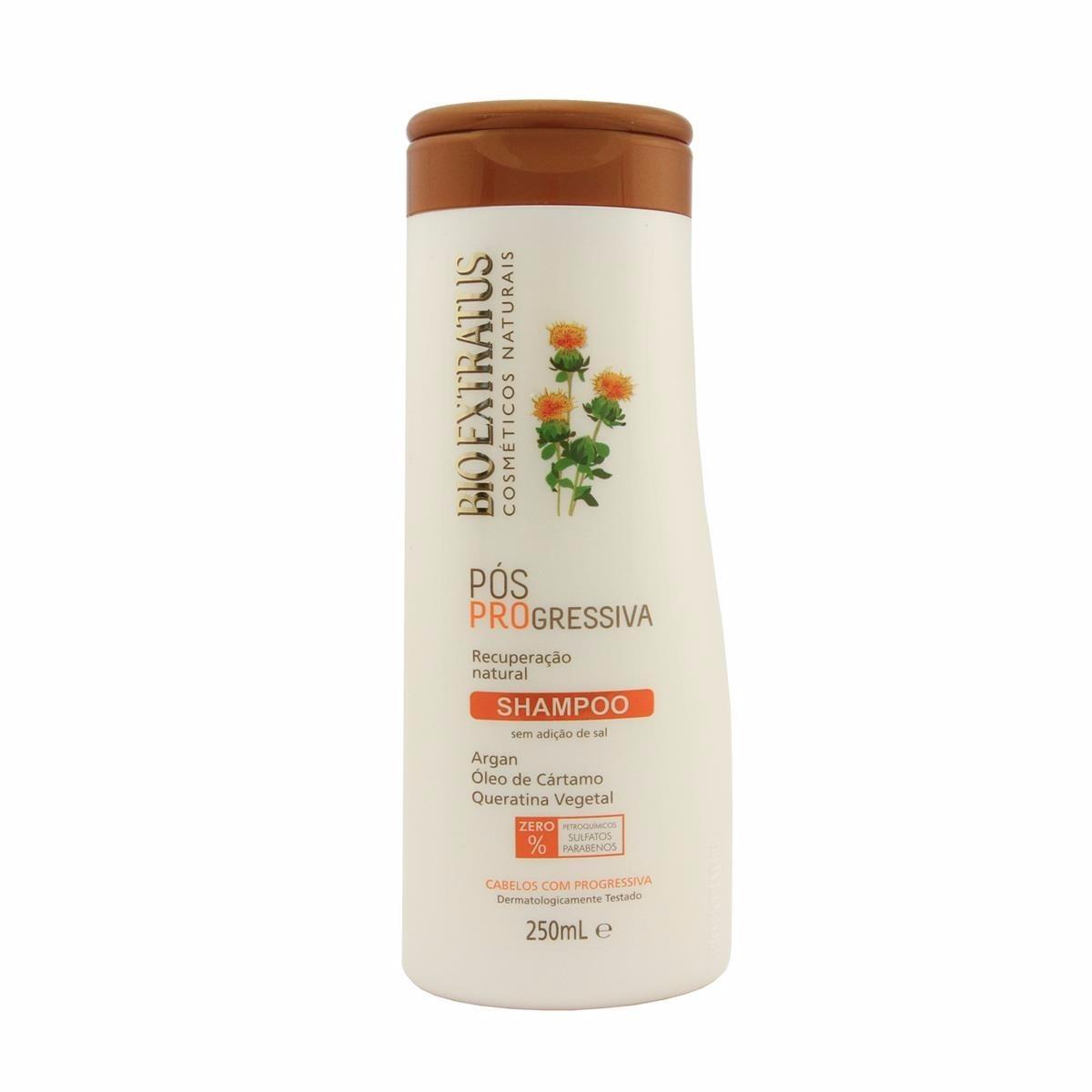 Shampoo Pos Progressiva Bio Extratus 250ml Low Poo R 25 50 Em