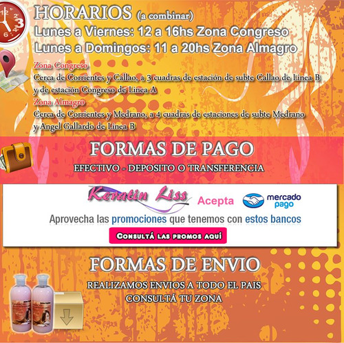 shampoo post alisado keratinliss 500 ml