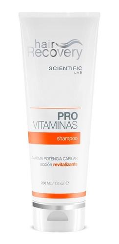 shampoo provitaminas  scientificlab  hair recovery
