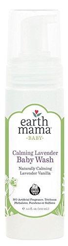 shampoo relajante corporal earth mama organics de lavanda pa
