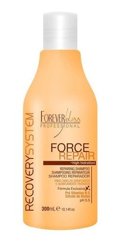shampoo reparador force repair - forever liss  300ml