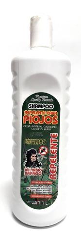 shampoo repelente para piojos 1.1 l indio papago envio full