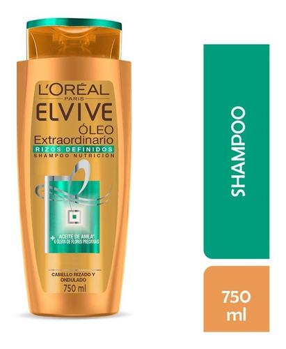 shampoo rizos def l'oréal elvive oleo extraordinario 750 ml