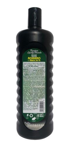 shampoo romero y árbol de té 1.1 lt indio papago.
