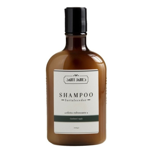 shampoo saint james 240 ml fortalecedor