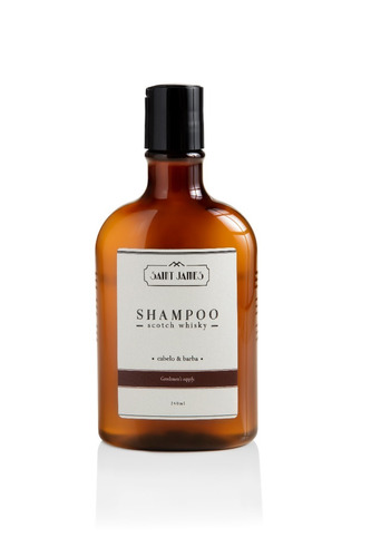 shampoo saint james cabelo e barba 240 ml scotch whisky