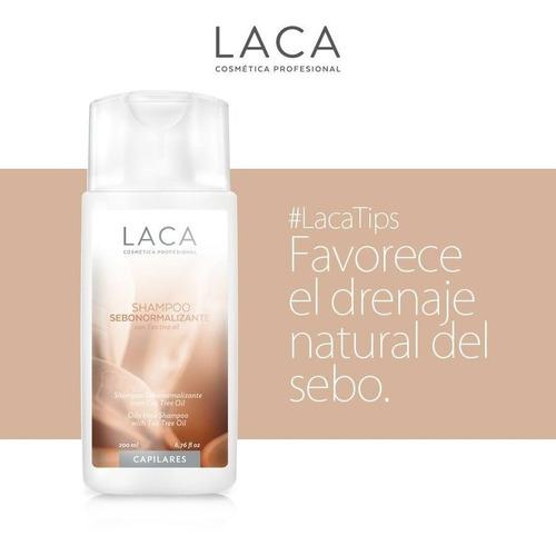 shampoo sebonormalizante con tea tree oil laca