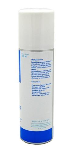 shampoo seco beta sin enjuage x 160ml lavado en seco