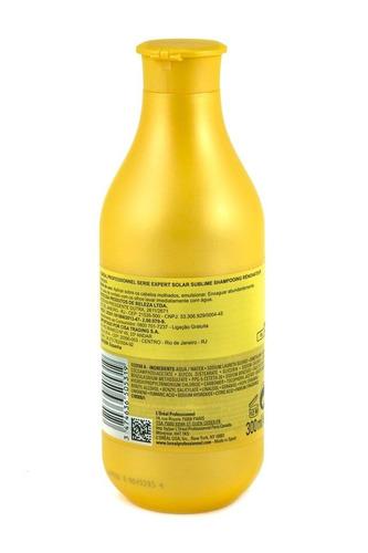 shampoo serie expert solar sublime l'oréal pro 300 ml